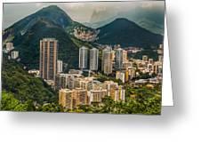 Brasil Rio De Janeiro Greeting Card
