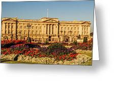 Buckingham Palace, London, Uk. Greeting Card