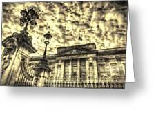 Buckingham Palace Vintage Greeting Card