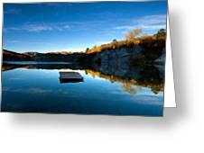 C E Landscape Greeting Card