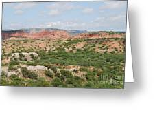 Caprock Canyon State Park  Greeting Card