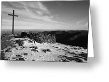 Carrauntoohil Summit Greeting Card
