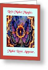 Celestial Butterfly Greeting Card