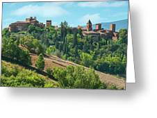 Certaldo Italy Greeting Card