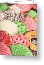 Christmas Cookies Greeting Card