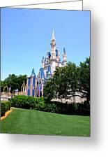 Cinderella's Castle Greeting Card