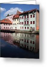 City Of Bydgoszcz In Poland Greeting Card
