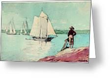 Clear Sailing Greeting Card