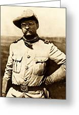 Colonel Theodore Roosevelt Greeting Card