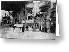 Coney Island: Luna Park Greeting Card