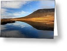 Connemara Lake Reflection Greeting Card