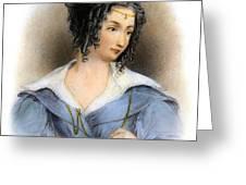 Countess Teresa Guiccioli Greeting Card