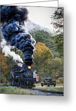 Country Railroad Crossing Greeting Card
