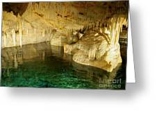 Crystal Cave In Hamilton Parish Bermuda Greeting Card