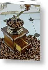 Daily Grind Coffee Greeting Card