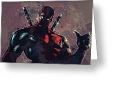 Deadpool Greeting Card