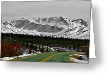 Denali Park - Alaska Greeting Card