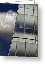 Detail Frank Gehry Building Manhattan Greeting Card