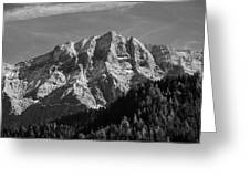 Dolomiti Landscape Greeting Card