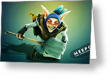 Dota 2 Greeting Card