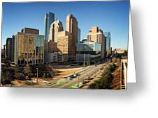 Downtown Okc Greeting Card