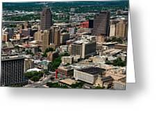 Downtown San Antonio Greeting Card