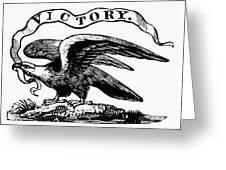 Eagle, 19th Century Greeting Card