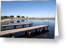 East Lake Toho In Florida Greeting Card