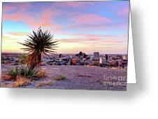 El Paso, Texas Greeting Card