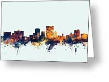 El Paso Texas Skyline Greeting Card