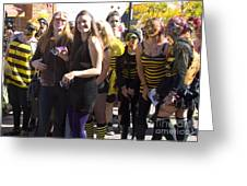 Emma Crawford Coffin Races In Manitou Springs Colorado Greeting Card