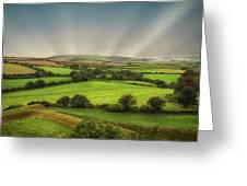 English Countryside Greeting Card
