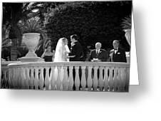 Etzel Mcdougal Wedding Greeting Card