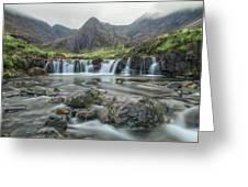 Fairy Pools - Isle Of Skye Greeting Card