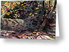 Fallen Oak Greeting Card