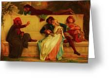 Florentine Poet Greeting Card