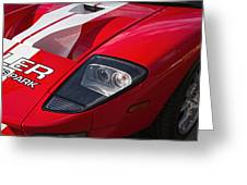 Ford Gt Greeting Card