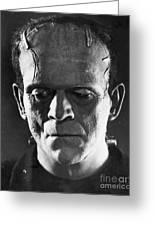 Frankenstein, 1931 Greeting Card