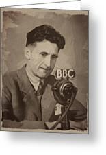 George Orwell 1 Greeting Card