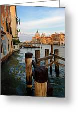 Grand Canal, Venice, Italy Greeting Card