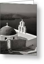 Greek Island - Santorini Greeting Card