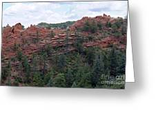Hiking The Mesa Trail In Red Rocks Canyon Colorado Greeting Card