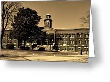 Historic White Hall - Tuskegee University Greeting Card