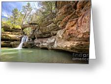 Hocking Hills Waterfall Greeting Card