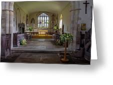 Holy Cross Church, Ramsbury Greeting Card