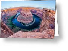 Horseshoe Bend Near Page Arizona Greeting Card