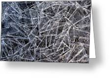 3. Ice Pattern 2, Corbridge Greeting Card