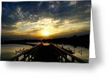 J P Landscape Greeting Card
