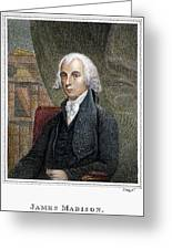 James Madison (1751-1836) Greeting Card