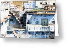 Jodhpur Blue City Greeting Card